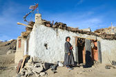Tibetan woman — Stock Photo