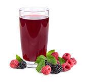 Berry juice — Stock Photo