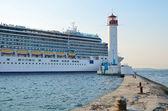 Costa Deliziosa ship — Stock Photo