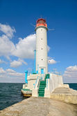 Lighthouse on a sea — Stock Photo