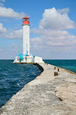 Sea lighthouse — Stock Photo