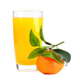 Succo di mandarini — Foto Stock