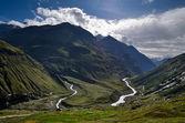 Vallée de la montagne verte — Photo