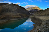 Lake on Baralacha la pass — Stock Photo