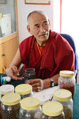 Buddhist pharmacist — Stockfoto