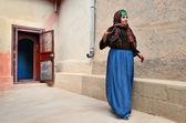 Senior berber woman — Stock Photo