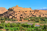 Fortified city in Morocco, Africa. — Stock Photo