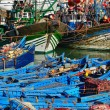 Boats in a port — Stock Photo #45082517