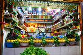 Moroccan street  market — Stock Photo
