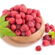 Ripe raspberries — Stock Photo #50365783