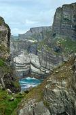 Acantilados en irlanda — Foto de Stock
