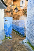 Historical medina of Chefchaouen — Stock Photo