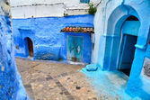 Blue town Chefchaouen — Stock Photo