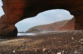 Playa legzira — Foto de Stock