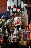 Moroccan lamps — Stock Photo