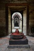 Stone Shiva lingam — Stock Photo