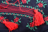 Bordado tradicional ucraniano — Foto de Stock