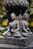 Buddha sculpture — Stock Photo