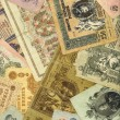 Old russian money background — Stock Photo #6042577