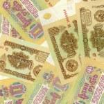 Soviet russian money background — Stock Photo #7482118