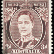 AUSTRALIA - CIRCA 1938 King George VI — Stock Photo