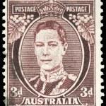 AUSTRALIA - CIRCA 1938 King George VI — Stock Photo #15486595