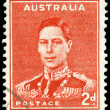 AUSTRALIA - CIRCA 1937 King George VI — Stock Photo #15486633