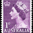 AUSTRALIA - CIRCA 1953 Elizabeth II — Stock Photo