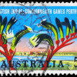 AUSTRALIA - CIRCA 1962 Kangaroo Paw - Stock Photo