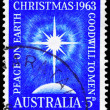 AUSTRALIA - CIRCA 1963 Star of Bethlehem — Stock Photo