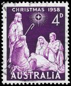 AUSTRALIA - CIRCA 1958 Christmas — Stock Photo