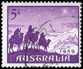 AUSTRALIA - CIRCA 1959 Approach of the Magi — Stock Photo