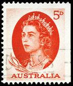 Australien - ca. 1963 elisabeth ii — Stockfoto