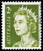 AUSTRALIA - CIRCA 1966 Elizabeth II — Stock Photo