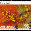 AUSTRALI- CIRC1981 Thorny Devil — Stock Photo #15496985