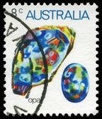 Australia - intorno al 1973 opale — Foto Stock