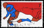 австралия - около 1974 регби — Стоковое фото