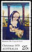 Australien - ca 1978 virgin och barn — Stockfoto