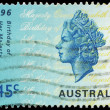AUSTRALI- CIRC1996 Queen Elizabeth II — Stock Photo #15521865