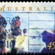 Stock Photo: AUSTRALI- CIRC1998 Herding cattle