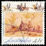 AUSTRALIA - CIRCA 1990 Commissioner Tent — Stock Photo #15529669