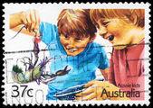 Australie - circa 1987 langouste — Photo