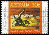 Australia - intorno al 1985 mura della cina — Foto Stock