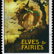 AUSTRALIA - CIRCA 1985 Elves and Fairies - Stock Photo