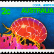 AUSTRALIA - CIRCA 1984 Coral Hopper — Stock Photo