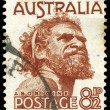 AUSTRALIA - CIRCA 1950 Aborigine - Stock Photo