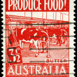 AUSTRALIA - CIRCA 1953 Butter — Stock Photo