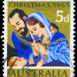 Stock Photo: AUSTRALI- CIRC1965 Nativity