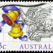 Stock Photo: AUSTRALI- CIRC1985 Angel with Bells