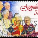Australia - circa 1987 jubilados — Foto de Stock